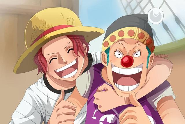One Piece: Hóa ra Shanks và Buggy cũng đã từng có 1 thời mặn nồng, sẵn sàng hy sinh vì nhau - Ảnh 8.