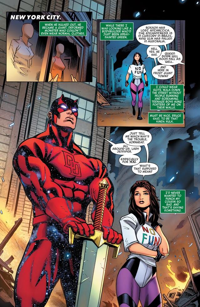 Daredevil trở thành Nhà Tiên Tri Vũ Trụ của Marvel Comics? - Ảnh 4.