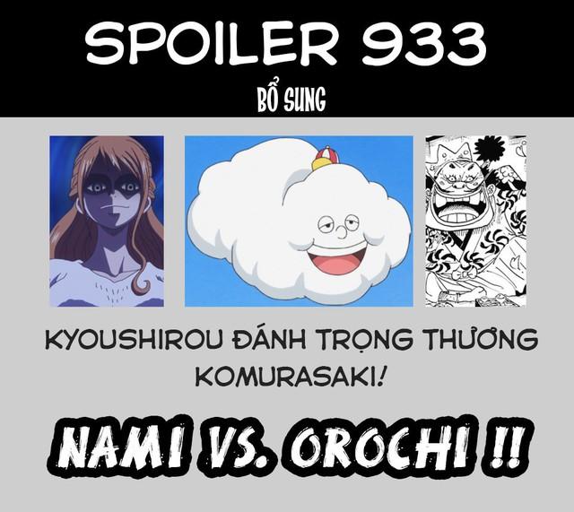 One Piece 933: Thần Sấm Sét Enel trở lại, Nami triệu hồi Zeus giáng một đòn cực mạnh vào người Tướng quân Orochi - Ảnh 3.