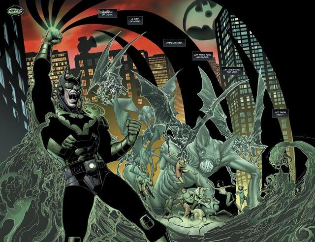 The Dawnbreaker - Tên Batman biến chất đồ sát binh đoàn Đèn Lồng Xanh và hủy diệt cả thế giới - Ảnh 7.