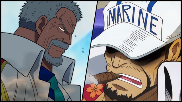 One Piece: Monkey D.Garp sẽ có một cuộc chiến long trời lở đất với Đô Đốc Akainu. Ai là người chiến thắng? - Ảnh 1.