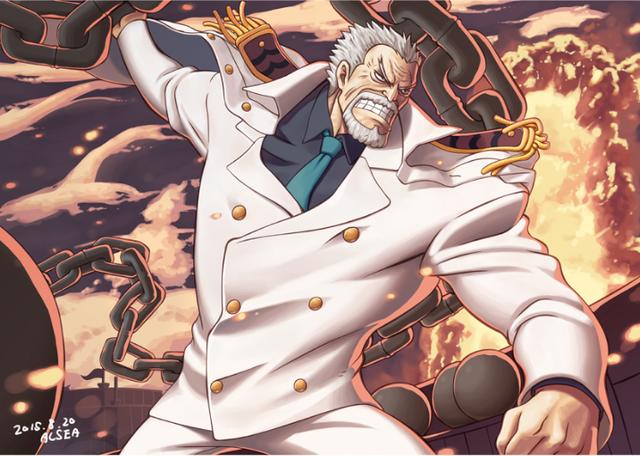 One Piece: Monkey D.Garp sẽ có một cuộc chiến long trời lở đất với Đô Đốc Akainu. Ai là người chiến thắng? - Ảnh 3.