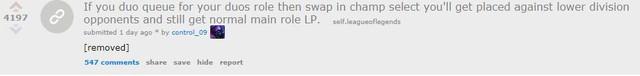 LMHT: Nhiều người chơi đang lợi dụng lỗ hổng của hệ thống Xếp Hạng theo vị trí để trục lợi khi leo Rank - Ảnh 3.