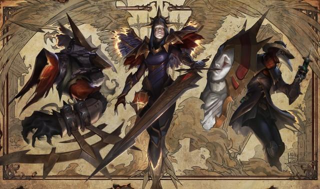 LMHT: Chiêm ngưỡng loạt ảnh nền trang phục tuyệt đẹp của chị em chân dài Kayle và Morgana - Ảnh 9.