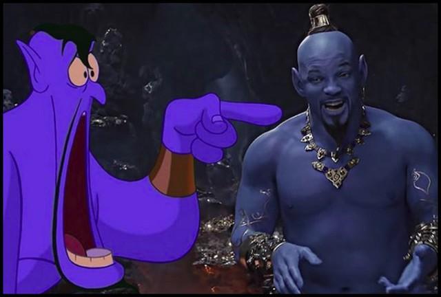 Xấu ma chê quỷ hờn nhưng Disney vẫn tự tin về Thần Đèn Will Smith xanh lét của mình - Ảnh 1.