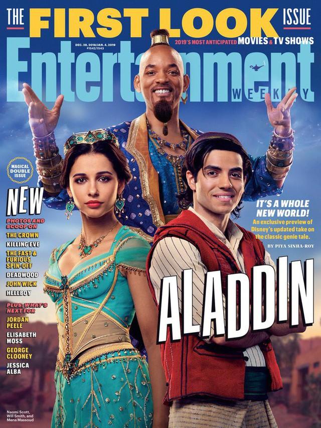 Xấu ma chê quỷ hờn nhưng Disney vẫn tự tin về Thần Đèn Will Smith xanh lét của mình - Ảnh 3.