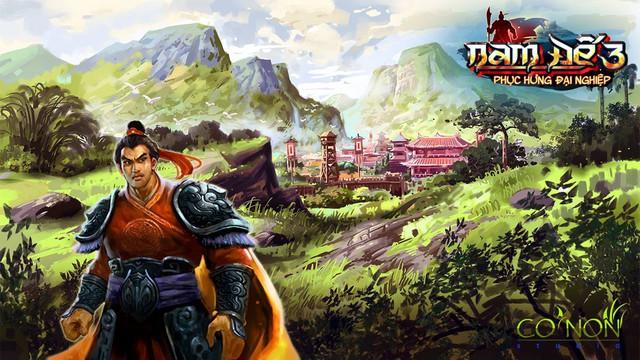 Game thuần Việt trăm phần trăm Nam Đế 3 rục rịch ra mắt game thủ, quá hot - Ảnh 2.