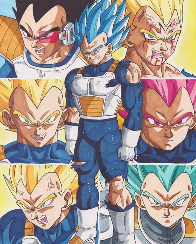 7 chiến binh Saiyan mạnh nhất đã xuất hiện trong mạch truyện chính của Dragon Ball - Ảnh 2.