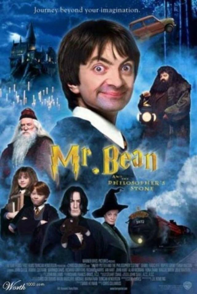 Chết cười với bộ ảnh Mr. Bean vào vai các siêu anh hùng nổi tiếng - Ảnh 2.