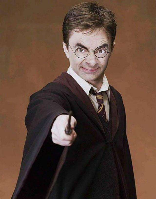 Chết cười với bộ ảnh Mr. Bean vào vai các siêu anh hùng nổi tiếng - Ảnh 3.