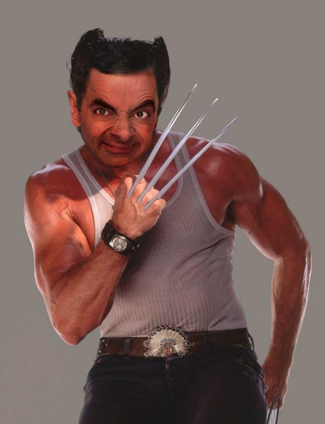 Chết cười với bộ ảnh Mr. Bean vào vai các siêu anh hùng nổi tiếng - Ảnh 7.