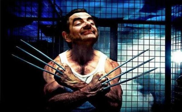 Chết cười với bộ ảnh Mr. Bean vào vai các siêu anh hùng nổi tiếng - Ảnh 8.