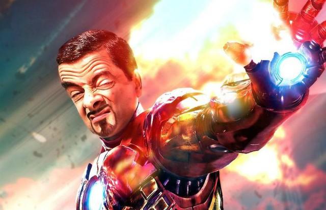 Chết cười với bộ ảnh Mr. Bean vào vai các siêu anh hùng nổi tiếng - Ảnh 10.