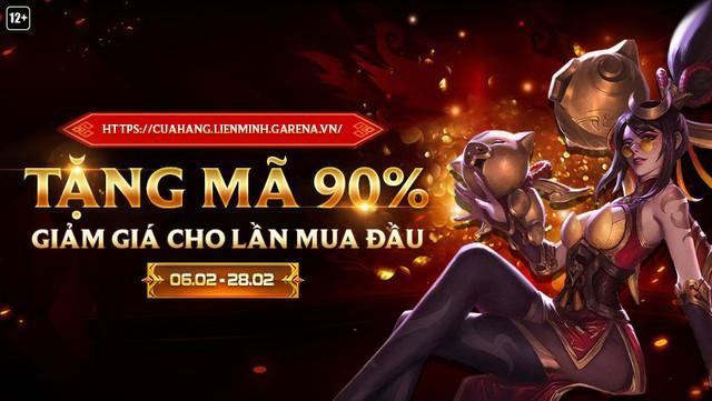 LMHT: Hướng dẫn sử dụng mã giảm giá 90%, món quà đầu năm mà Garena tặng cho game thủ Việt - Ảnh 1.