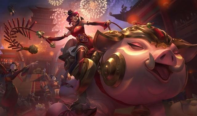 LMHT: Hướng dẫn leo rank đầu năm con lợn Sejuani phong cách sát thủ Kỷ Hợi - Ảnh 1.