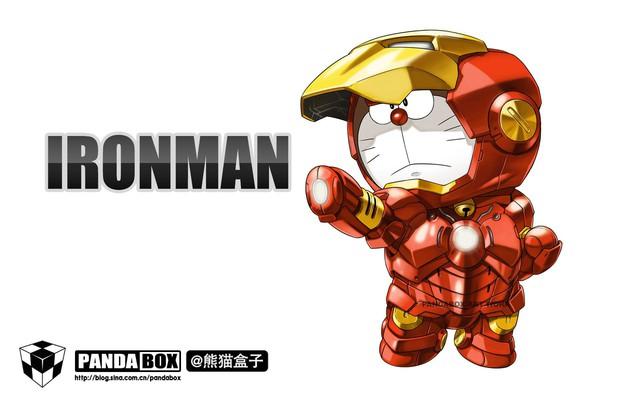 Chết cười với loạt ảnh mèo ú Doraemon béo tròn nhưng lại thích đi đóng phim bom tấn - Ảnh 1.