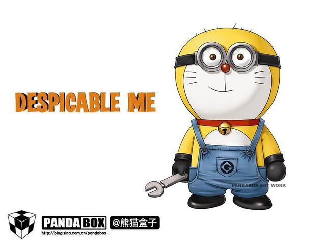 Chết cười với loạt ảnh mèo ú Doraemon béo tròn nhưng lại thích đi đóng phim bom tấn - Ảnh 11.