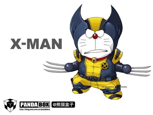 Chết cười với loạt ảnh mèo ú Doraemon béo tròn nhưng lại thích đi đóng phim bom tấn - Ảnh 3.