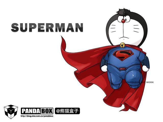 Chết cười với loạt ảnh mèo ú Doraemon béo tròn nhưng lại thích đi đóng phim bom tấn - Ảnh 5.
