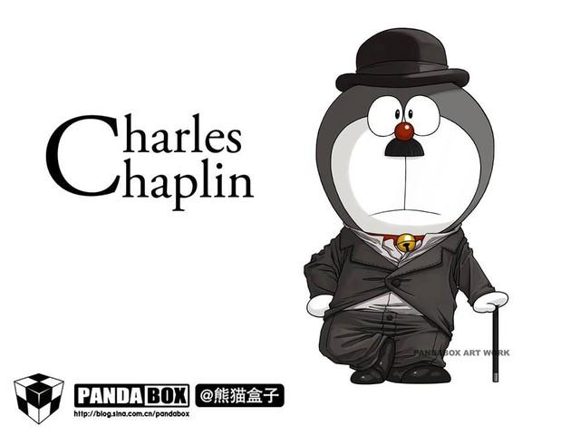 Chết cười với loạt ảnh mèo ú Doraemon béo tròn nhưng lại thích đi đóng phim bom tấn - Ảnh 6.