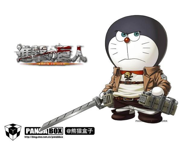 Chết cười với loạt ảnh mèo ú Doraemon béo tròn nhưng lại thích đi đóng phim bom tấn - Ảnh 9.