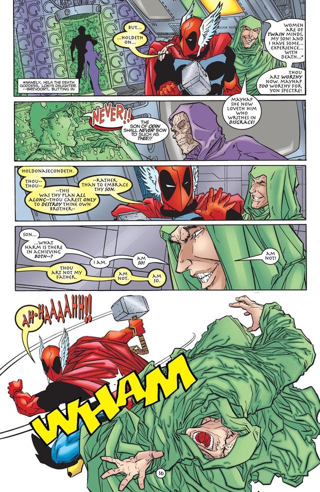 Từng nâng được Mjolnir nhưng liệu Deadpool có thực sự xứng đáng với cây búa thần của Thor? - Ảnh 4.