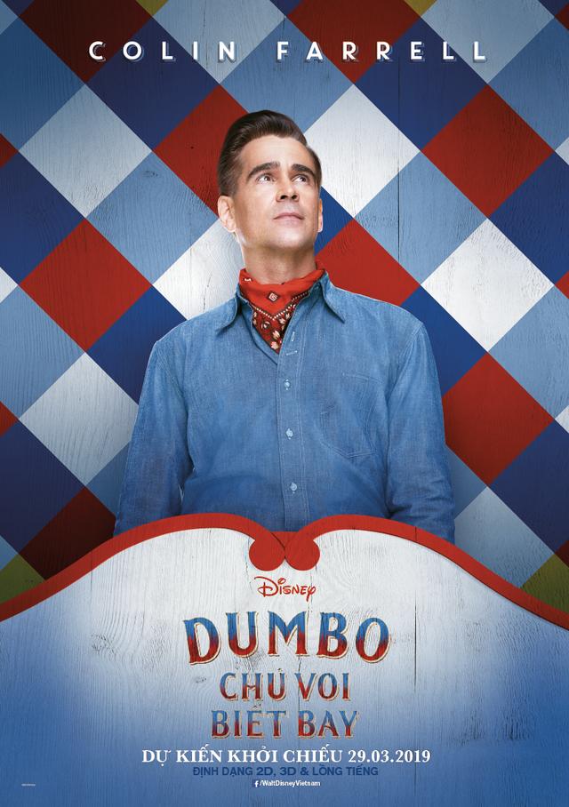 Dumbo - Chú Voi Biết Bay trở lại đầy sống động cùng dàn sao Hollywood quen thuộc - Ảnh 4.