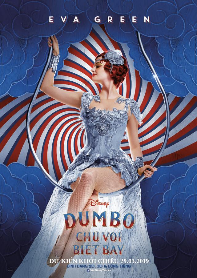 Dumbo - Chú Voi Biết Bay trở lại đầy sống động cùng dàn sao Hollywood quen thuộc - Ảnh 3.