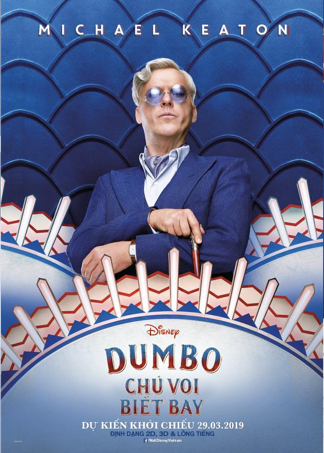 Dumbo - Chú Voi Biết Bay trở lại đầy sống động cùng dàn sao Hollywood quen thuộc - Ảnh 1.