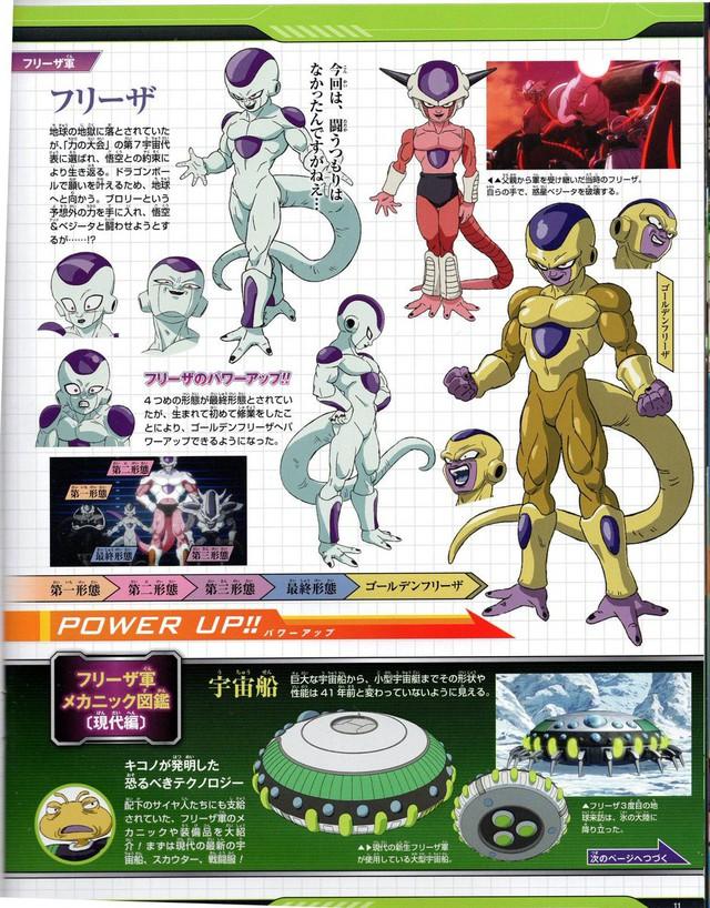 Hé lộ toàn bộ thiết kế chi tiết của dàn nhân vật từ chính đến phụ trong Dragon Ball Super: Broly - Ảnh 6.