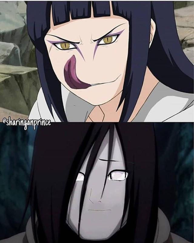 Naruto: Chọc mù mắt tôi đi, sao Hinata với Sakura sao lại biến thành 2 ả xấu xị, dị hợm thế này - Ảnh 1.
