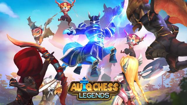 Xuất hiện game cờ nhân phẩm Auto Chess Legends do người Việt sản xuất, đồ họa hoạt hình cực đẹp - Ảnh 1.