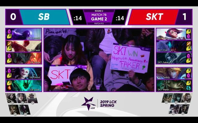 LMHT: SKT T1 trả món nợ lượt đi bằng chiến thắng ấn tượng trước SanboxGaming - Ảnh 7.