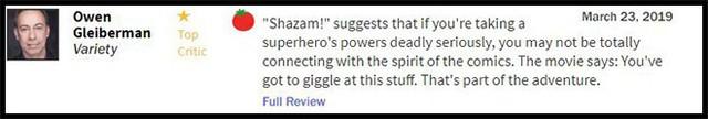 Thánh nhây Shazam được gọi là phim DC hay nhất từ trước đến nay - Ảnh 1.