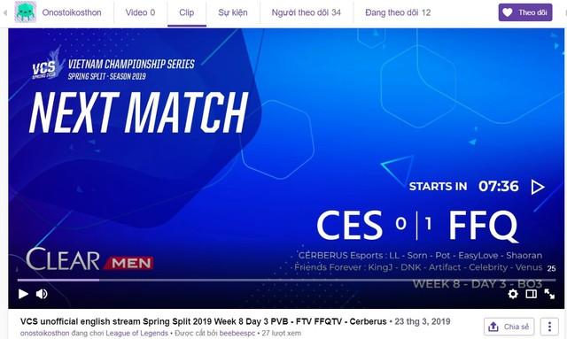 LMHT: Xem giải VCS quá hấp dẫn, game thủ nước ngoài quyết định mở kênh stream để tự bình luận bằng tiếng Anh - Ảnh 3.