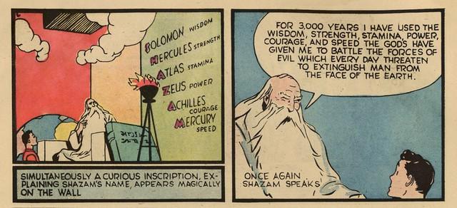 Tại sao biểu tượng của siêu anh hùng Shazam! lại là hình tia chớp? - Ảnh 1.