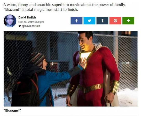 Shazam! vượt mặt Aquaman trong buổi công chiếu sớm, hứa hẹn là bom tấn bùng nổ trong tháng 4 - Ảnh 2.