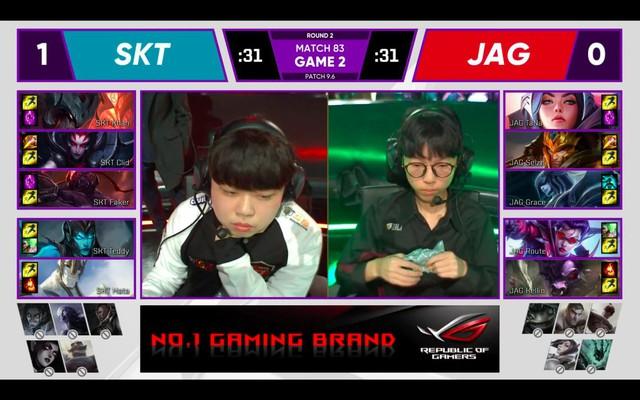SKT T1 hủy diệt đối thủ, chắc chắn TOP 2 trên bảng xếp hạng LCK Xuân 2019 - Ảnh 6.