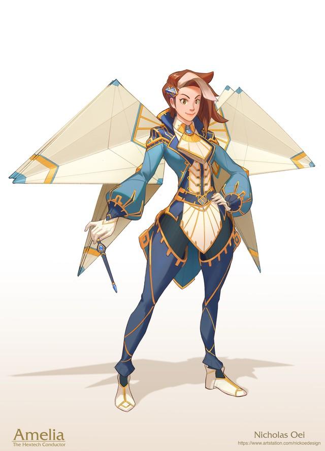 LMHT: Fan tự thiết kế trang phục cho một vị tướng hoàn toàn mới khiến người xem mê mẩn - Ảnh 1.