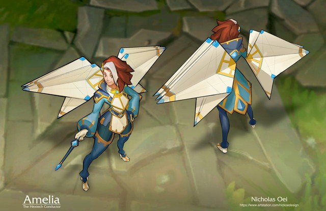 LMHT: Fan tự thiết kế trang phục cho một vị tướng hoàn toàn mới khiến người xem mê mẩn - Ảnh 2.