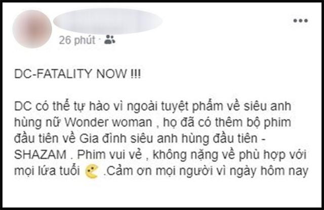 Khán giả Việt sau suất chiếu sớm phát cuồng vì Shazam: Phim siêu anh hùng lầy lội nhất từ trước đến nay - Ảnh 13.