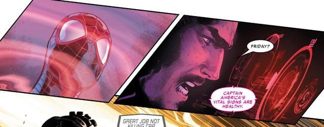 Tạo riêng một siêu chiến giáp để khắc chế Captain Marvel, nhưng Iron Man vẫn bị bán hành đến hôn mê bất tỉnh - Ảnh 3.