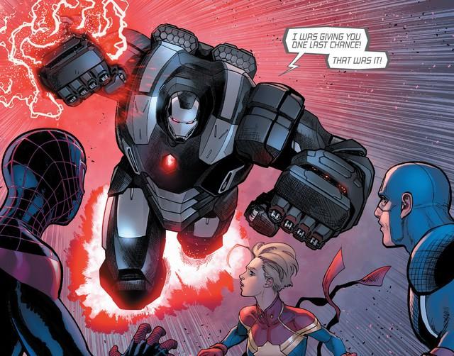 Tạo riêng một siêu chiến giáp để khắc chế Captain Marvel, nhưng Iron Man vẫn bị bán hành đến hôn mê bất tỉnh - Ảnh 1.