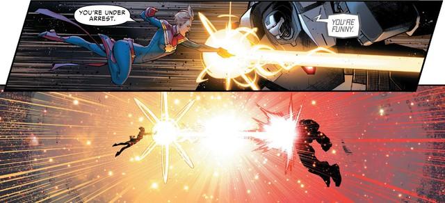 Tạo riêng một siêu chiến giáp để khắc chế Captain Marvel, nhưng Iron Man vẫn bị bán hành đến hôn mê bất tỉnh - Ảnh 5.