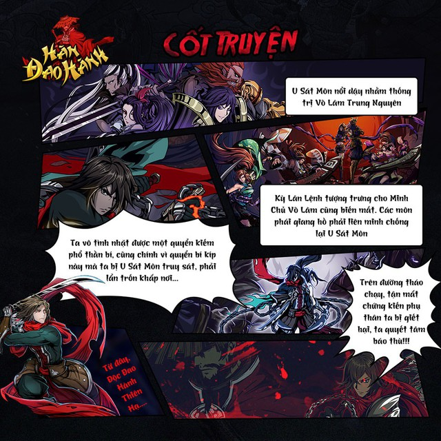 Soi Hàn Đao Hành - Game võ hiệp sắp ra mắt dựa trên bộ truyện nổi tiếng cùng tên - Ảnh 2.