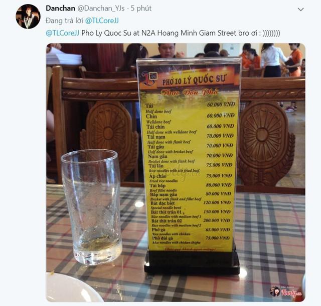 LMHT: Chưa đánh trận chung kết, CoreJJ đã nhờ fan tư vấn quán Phở nào ngon nhất Việt Nam? - Ảnh 3.