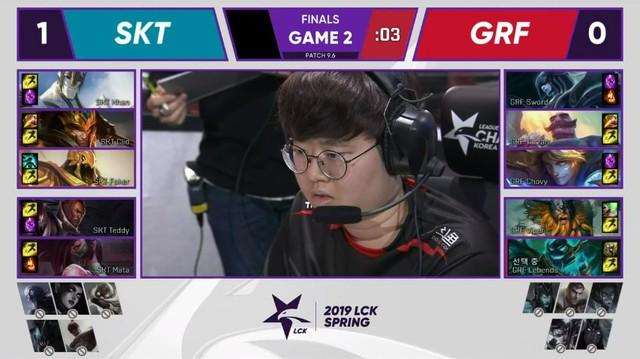 LMHT: SKT T1 vùi dập Griffin 3-0 trong trận chung kết LCK Xuân 2019 - Chân mệnh thiên tử đã trở lại thật rồi - Ảnh 4.
