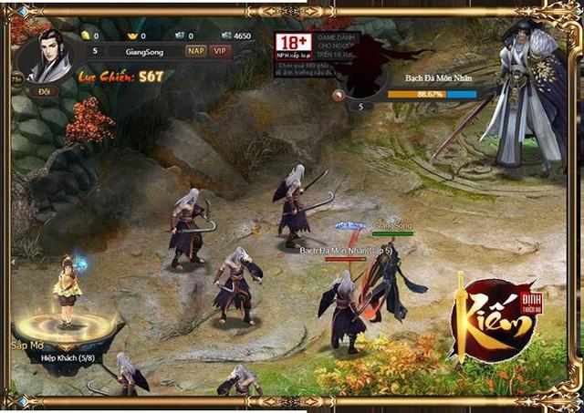 Kiếm Định Thiên Hạ - hàng hiếm dành cho các game thủ yêu thích webgame - Ảnh 4.