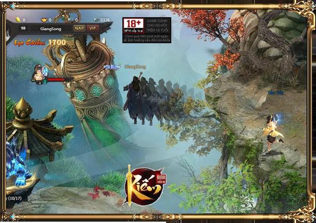 Kiếm Định Thiên Hạ - hàng hiếm dành cho các game thủ yêu thích webgame - Ảnh 5.