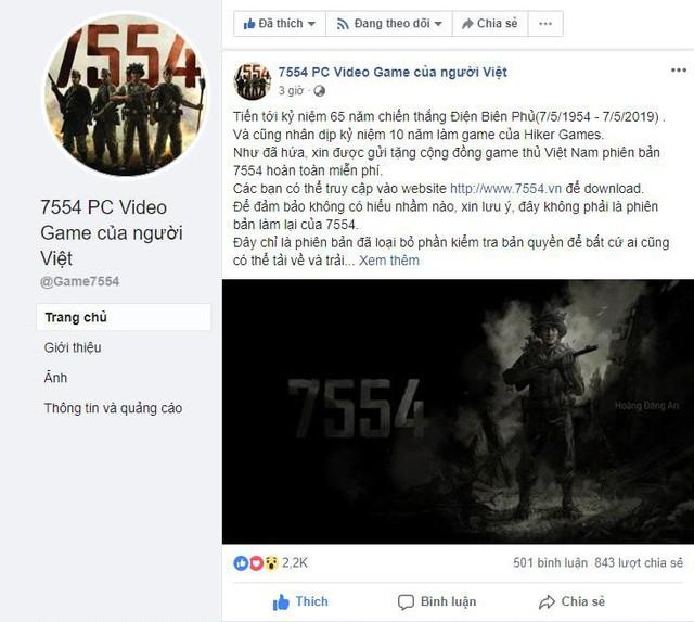 Game chiến thắng Điện Biên Phủ 7554 đang cho tải miễn phí 100%, nhận game vĩnh viễn - Ảnh 2.